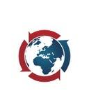 全球企业中介摘要2业务保险摘要 库存图片