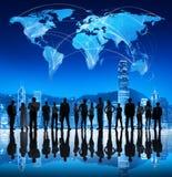 全球企业会议在香港 免版税库存照片