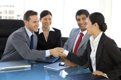 全球企业合作 免版税库存照片