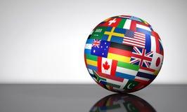 全球企业国际性组织地球 库存例证