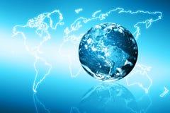 全球企业的最佳的互联网概念从 库存图片