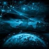 全球企业的最佳的互联网概念从 图库摄影