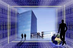 全球企业的概念 图库摄影