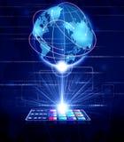 全球企业通信 免版税库存照片