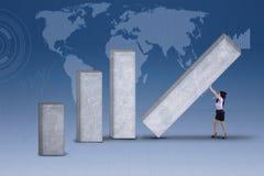 全球企业建造者 免版税库存图片