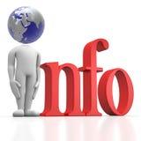 全球信息 库存照片