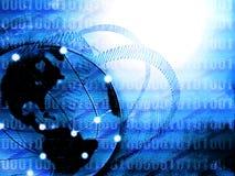 全球化行星 免版税图库摄影