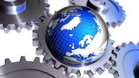 全球化 向量例证