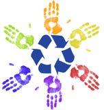 全球回收 免版税图库摄影
