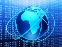 全球市场股票 免版税图库摄影