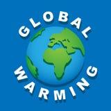 全球性变暖。 图库摄影