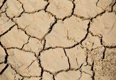 全球性变暖水危机 库存照片