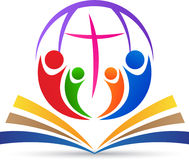 全球性基督教 向量例证