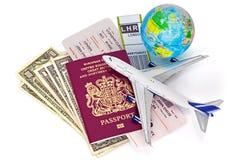 全球性旅行 免版税库存照片