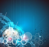 全球性无限计算机科技概念企业背景 库存例证