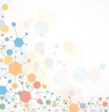 全球性无限计算机科技概念企业背景 免版税库存图片