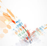 全球性无限计算机科技概念企业背景 免版税图库摄影