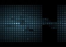 全球性无限计算机科技概念企业背景 库存图片