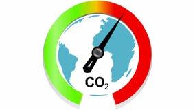 全球性气候变化和全球性变暖 库存例证