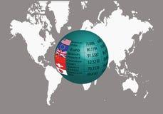 全球性汇兑 皇族释放例证