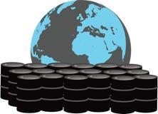 全球性石油市场 库存例证