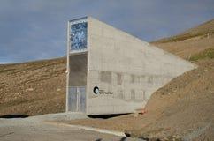 全球性种子穹顶斯瓦尔巴特群岛挪威 免版税库存照片