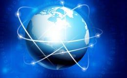 全球性网络背景 免版税库存照片