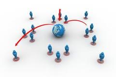 全球性网络 免版税库存图片