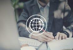 全球性被连接的公共国际全世界世界 免版税库存照片
