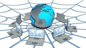 全球性计算机网络。网 库存图片