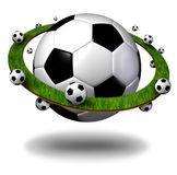 全球性足球标志 免版税库存照片