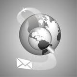 全球性运输的世界概念 免版税库存照片