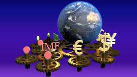 全球性财务概念,全球企业背景,财政拼贴画,财政概念,金融市场 股票录像