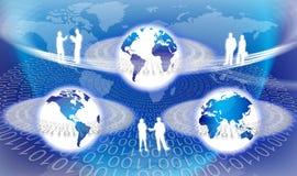 全球技术 向量例证