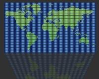 全球电视 免版税库存图片