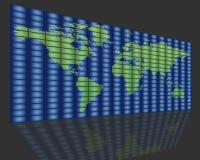 全球电视 免版税图库摄影