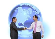 全球的交易 免版税库存照片