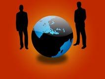 全球的商业 免版税库存图片