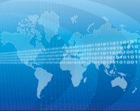 全球的数据 免版税库存图片