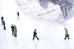 全球的生意人 免版税库存照片