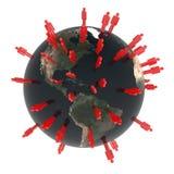 全球的社区 免版税图库摄影