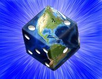 全球的赌博 皇族释放例证