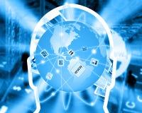 全球的连通性 库存照片