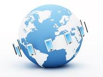 全球的通信 图库摄影