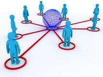 全球网络连接 图库摄影