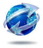 全球网络通信 皇族释放例证