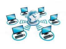 全球网络 免版税图库摄影