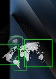 全球背景的商业 免版税图库摄影