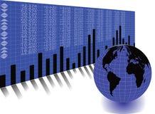 全球贸易 透视样式 库存例证