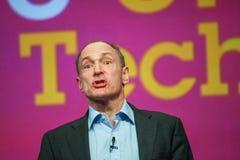 全球资讯网蒂姆・伯纳斯-李先生的发明者和创建者 库存照片